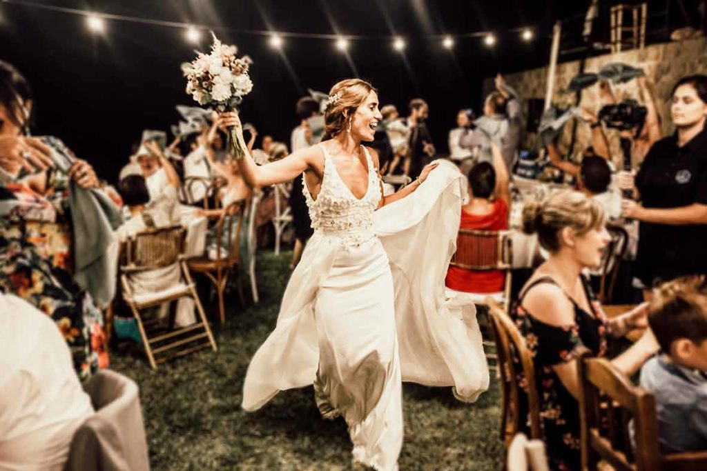 """ALT""Mallorca wedding photographer bride dancing"