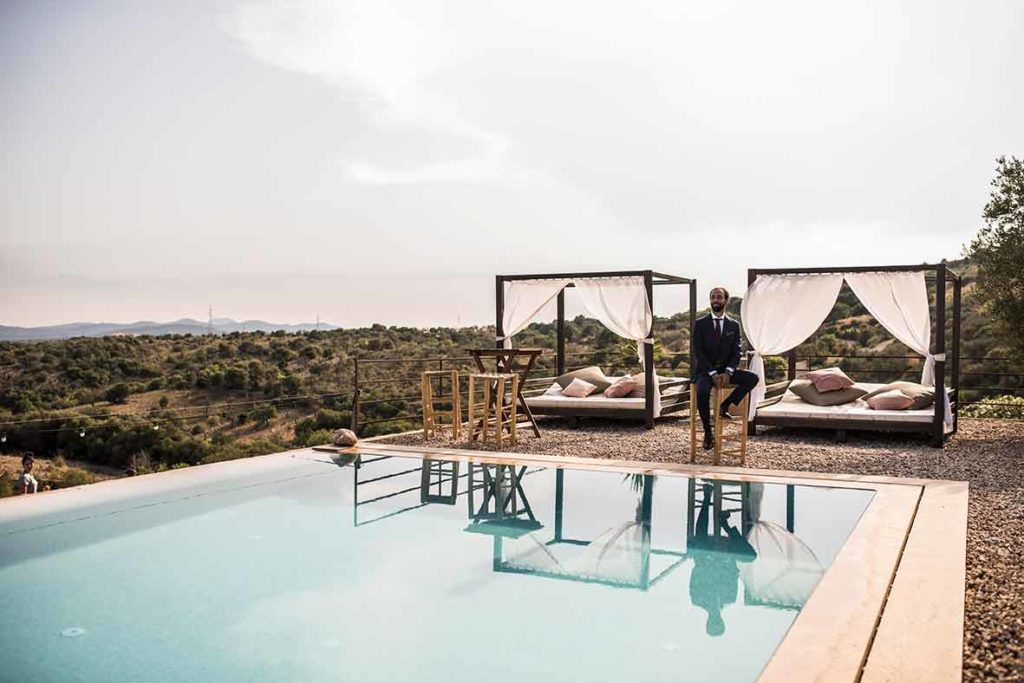 """ALT""Mallorca wedding photographer pool"