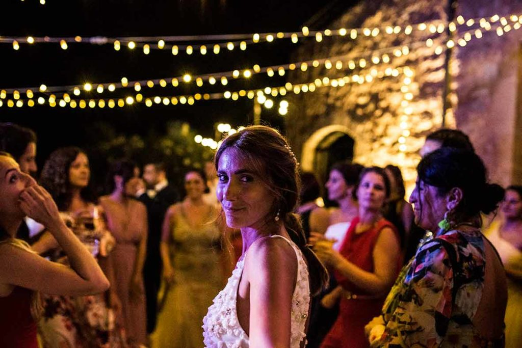 """ALT""Mallorca wedding photographer bride disco"