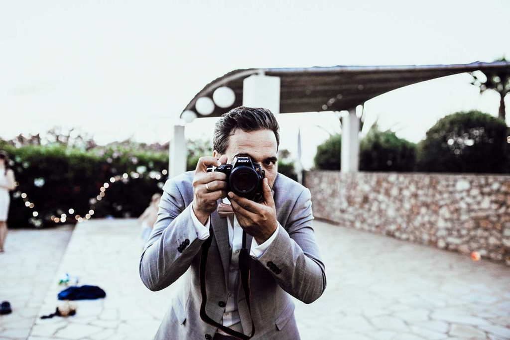 wedding photographer mallorca groom