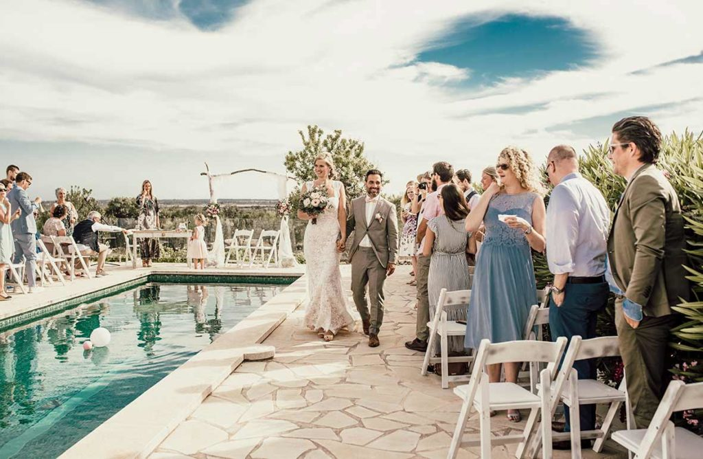 wedding photographer mallorca exit