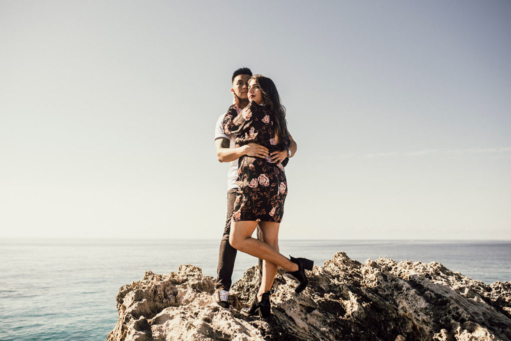"""ALT""couple's session in Mallorca looking forward"""