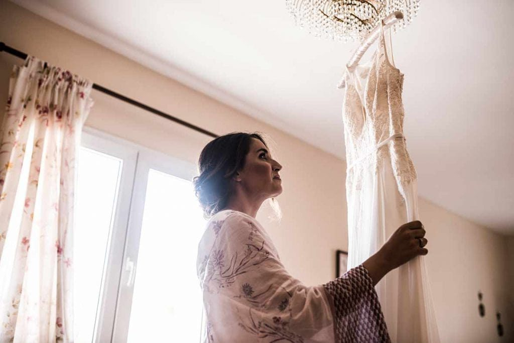 finca wedding mallorca preparations