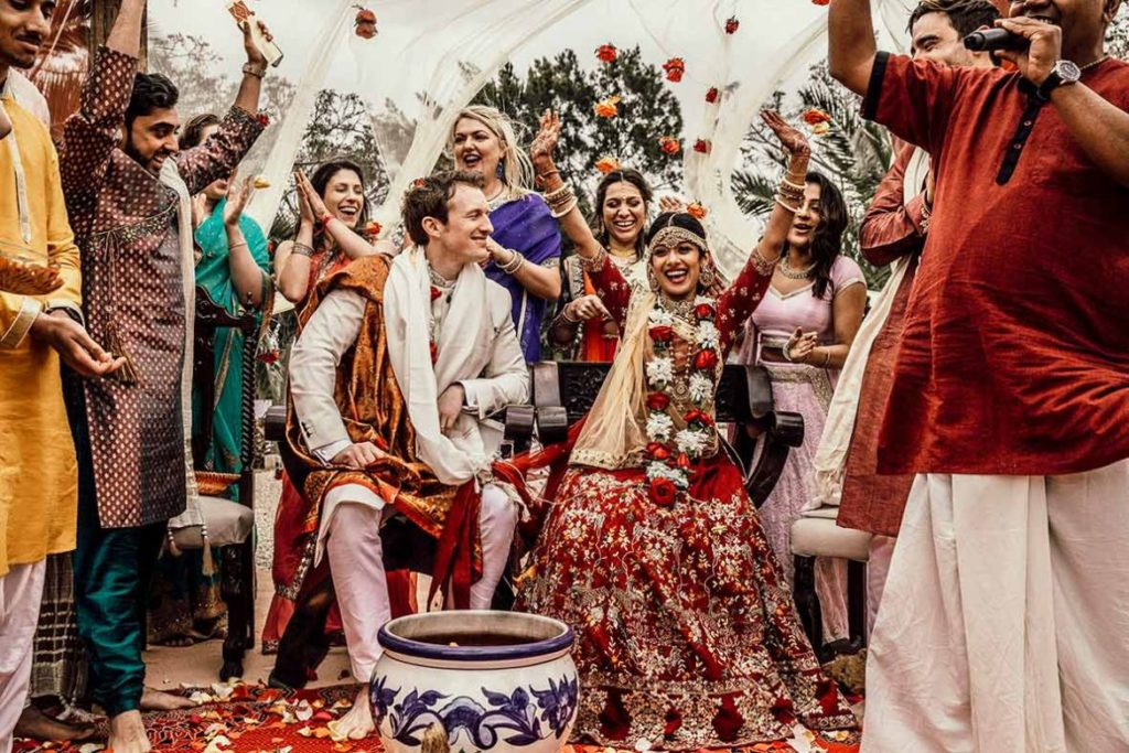 photographer in Mallorca Indian wedding