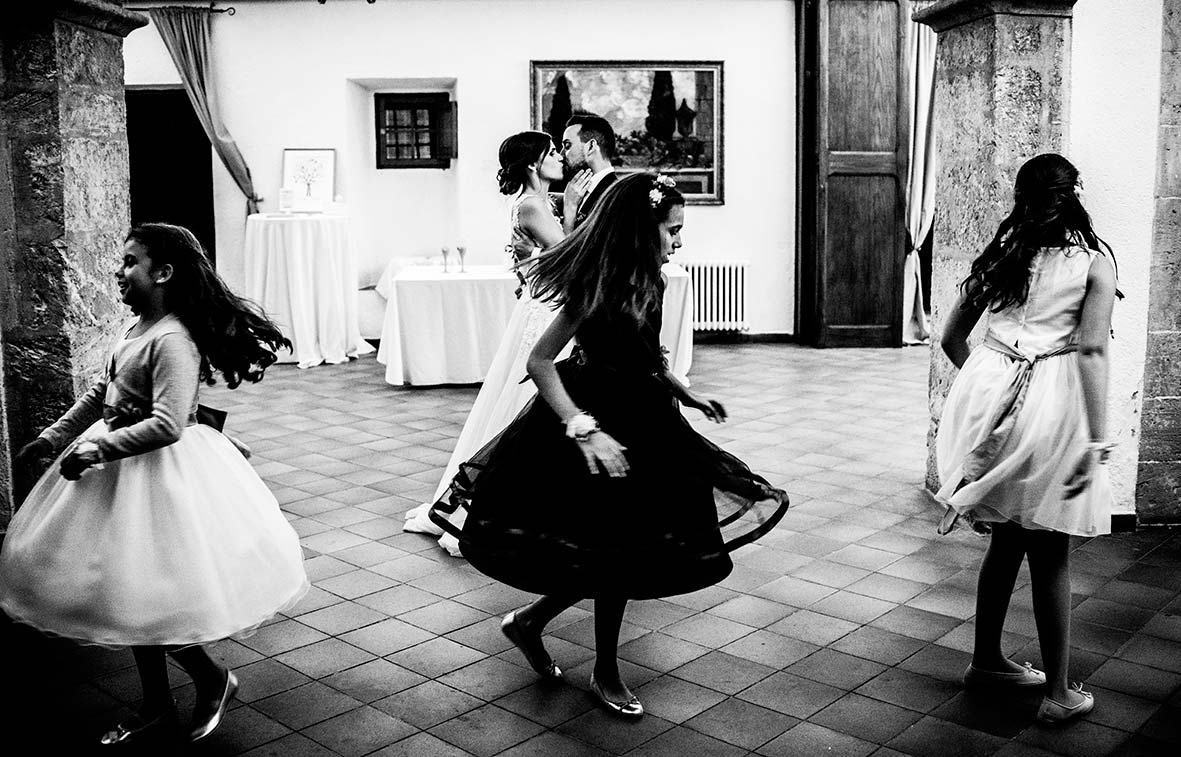 Weddings photographers Islas Baleares Black and white