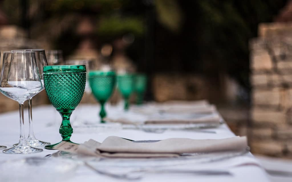lgbt wedding in mallorca table
