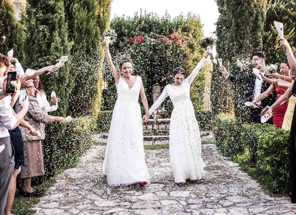 lgbt wedding in mallorca exit