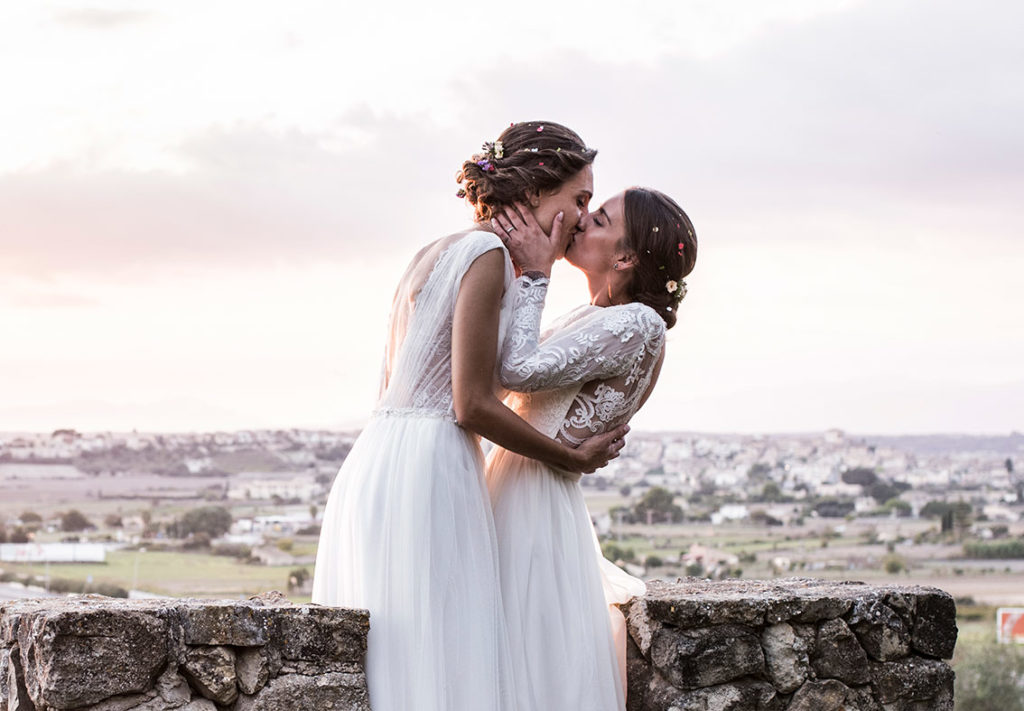 lgbt wedding in mallorca romantic