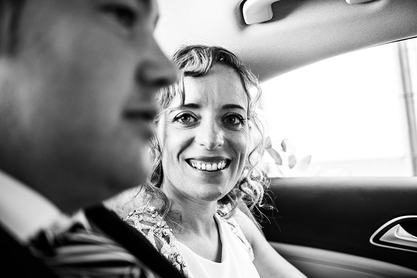 Wedding photographers Mallorca Balearic Islands car