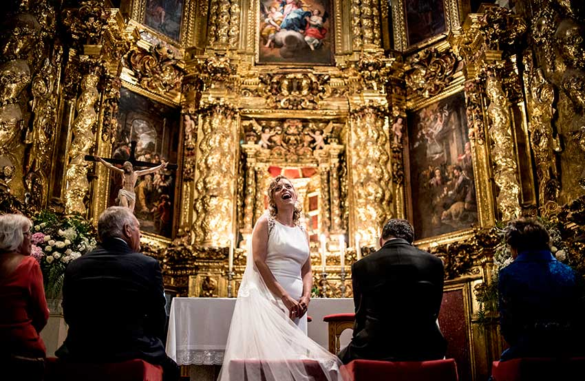 Wedding photographer Mallorca church