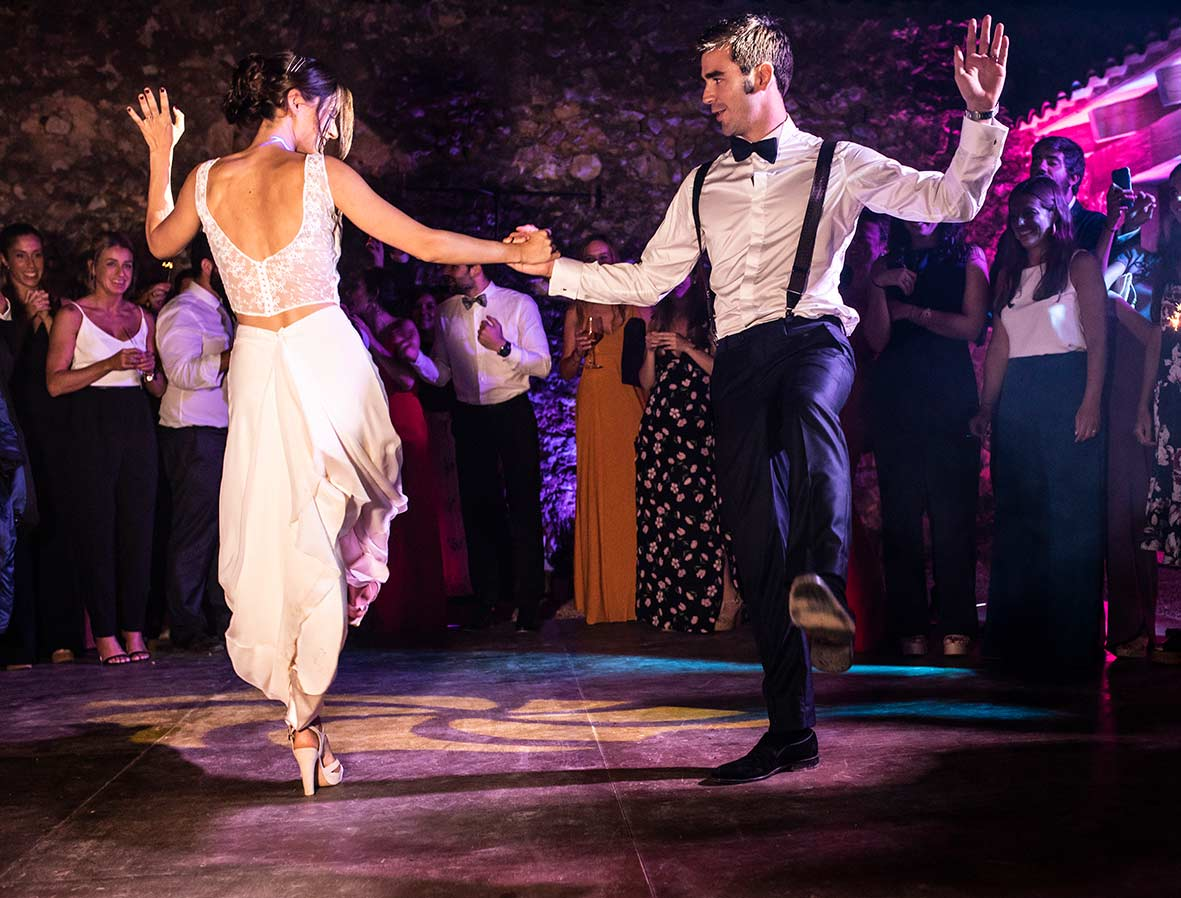 special dance in wedding in mallorca