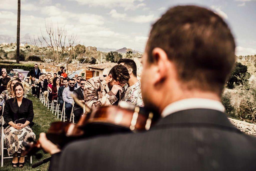 gay wedding mallorca moment