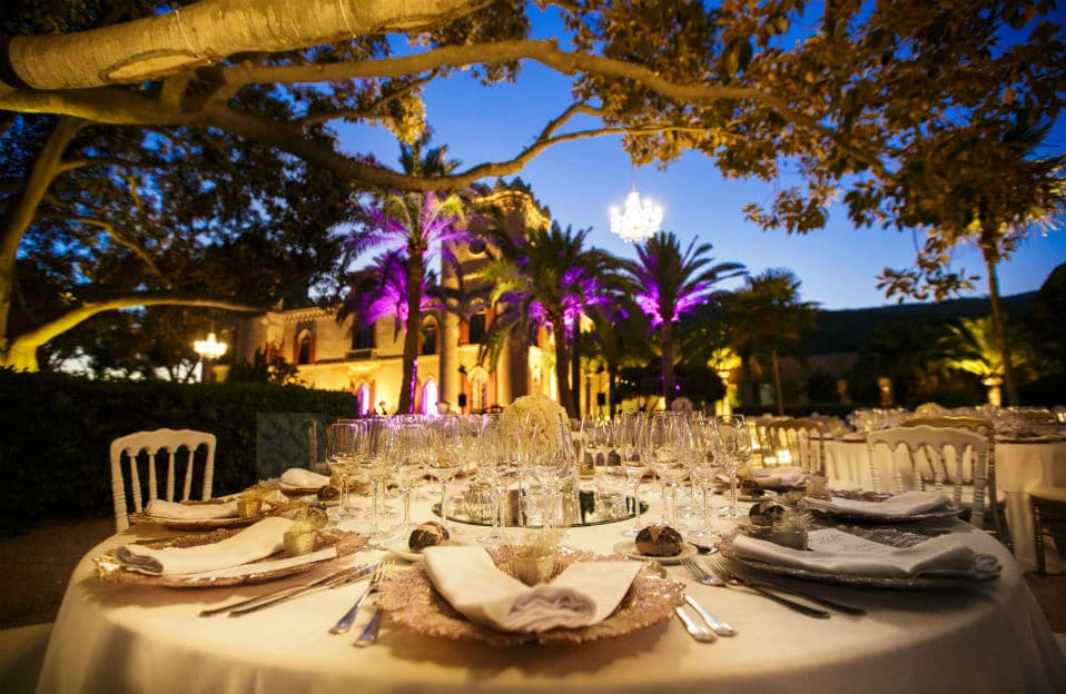 """ALT""incredible weddings in Mallorca Castillo Bendinat"