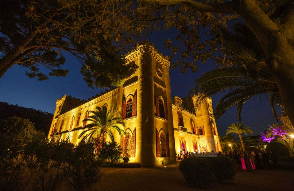 """ALT""incredible weddings in Mallorca Castillo Bendinat night"