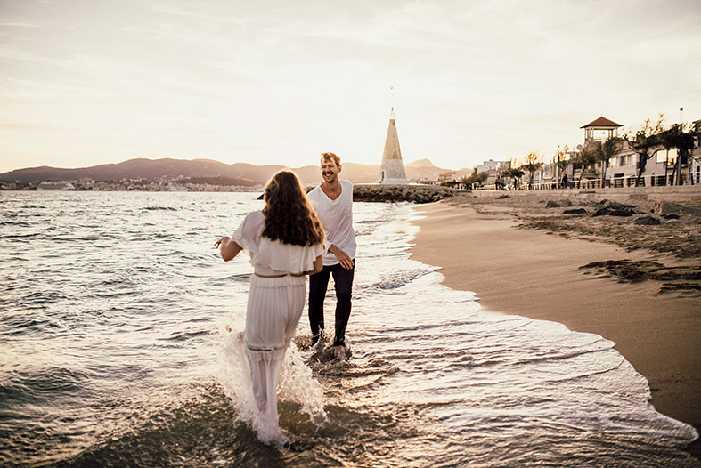 romantic engagement in mallorca