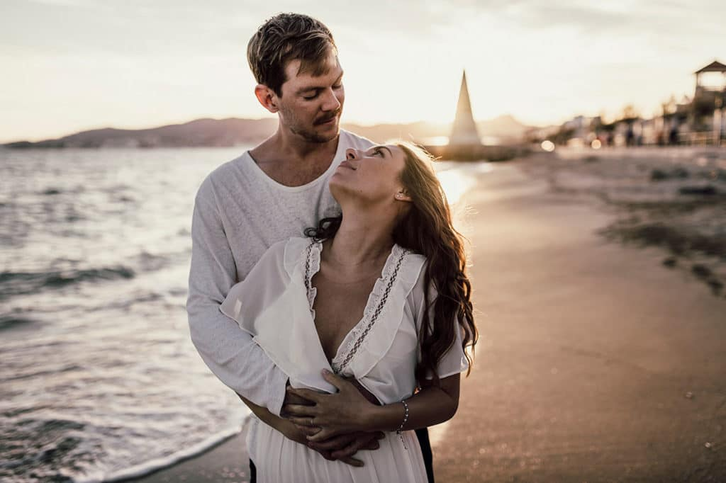 beautiful couple prewedding in mallorca