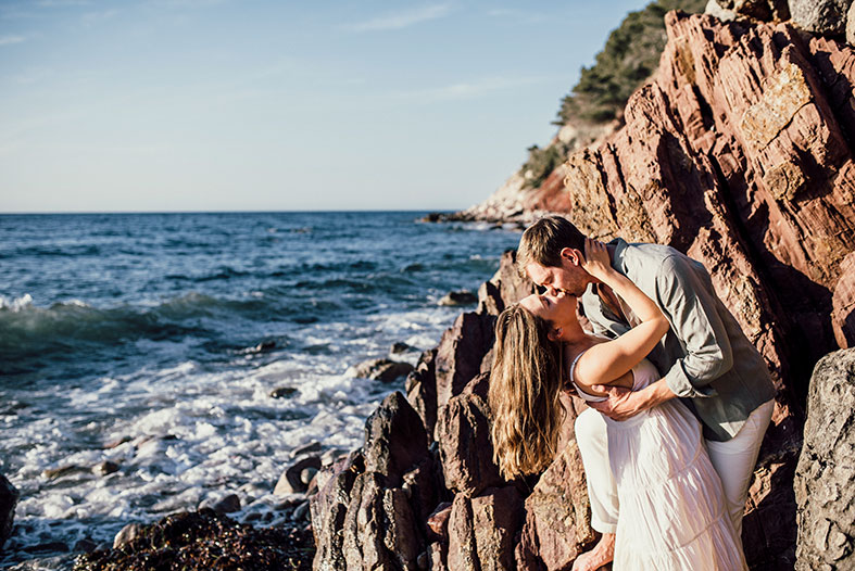 romantic prewedding in mallorca