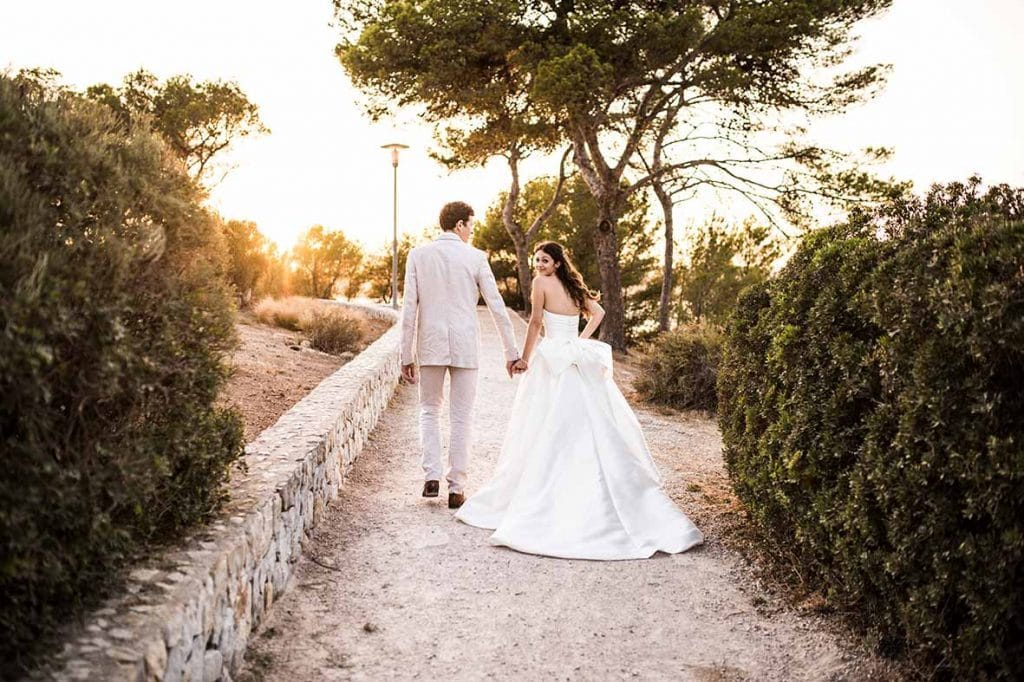"""ALT""postwedding in mallorca walk"