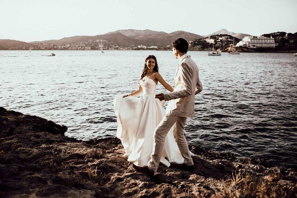 """ALT""postwedding in mallorca rocks"