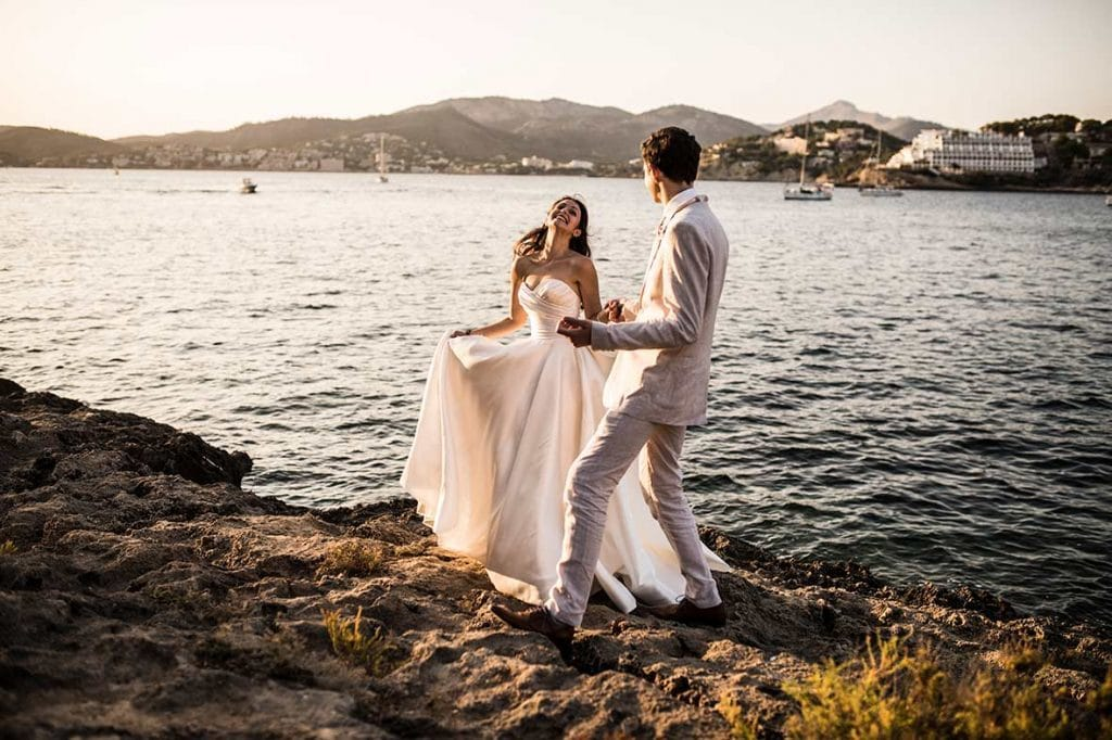 """ALT""postwedding in mallorca happy"