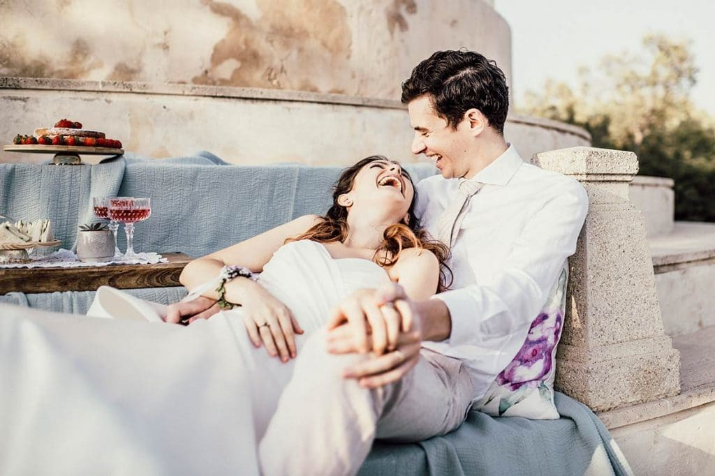 """ALT""postwedding in mallorca smiles"