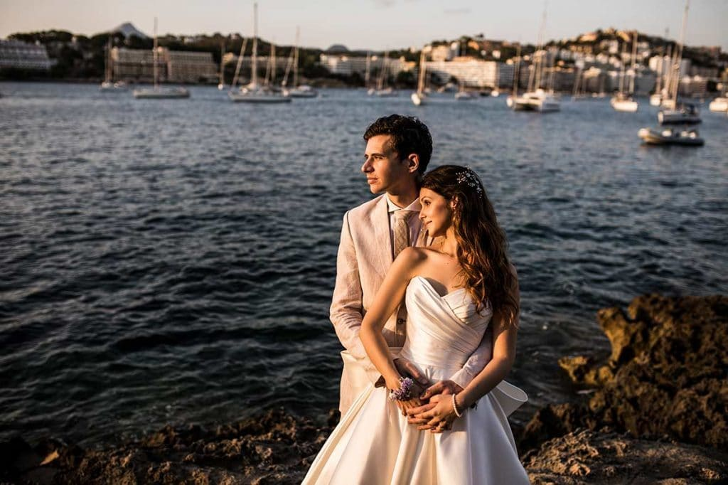 """ALT""postwedding in mallorca sea"