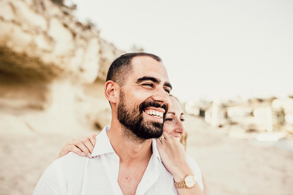 """ALT""prewedding in mallorca smile"
