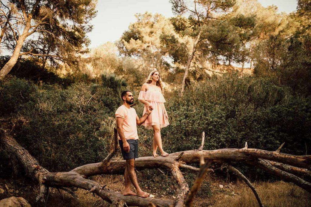 """ALT""prewedding in mallorca tree"