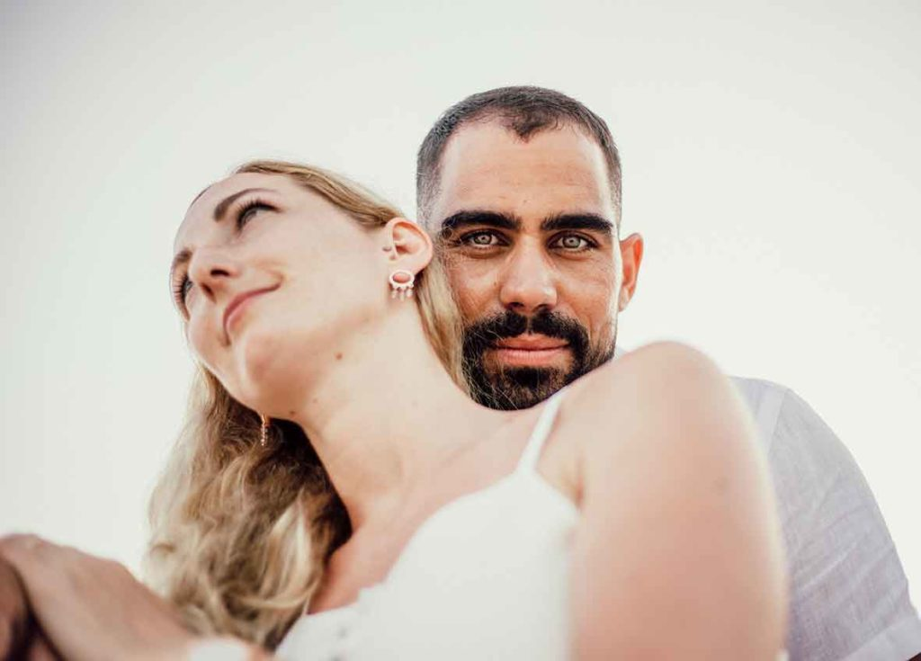"""ALT""prewedding in mallorca eyes"