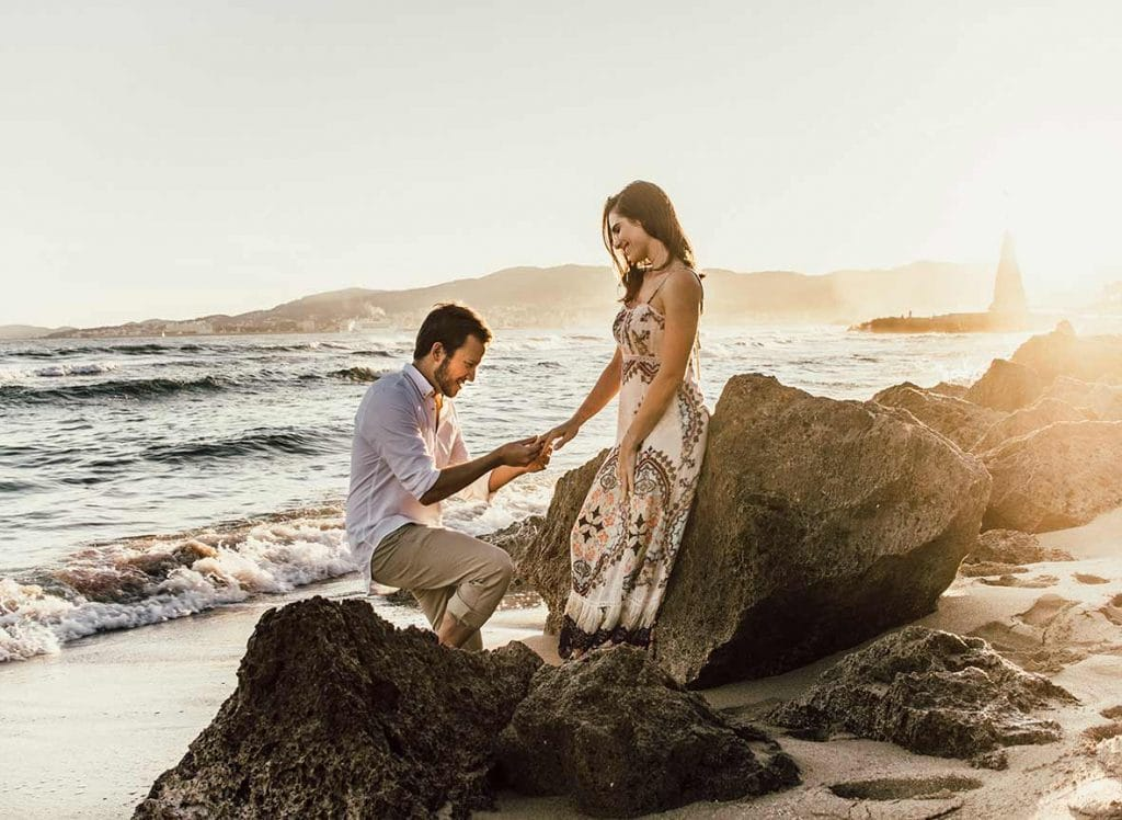 prewedding photographer in mallorca ring