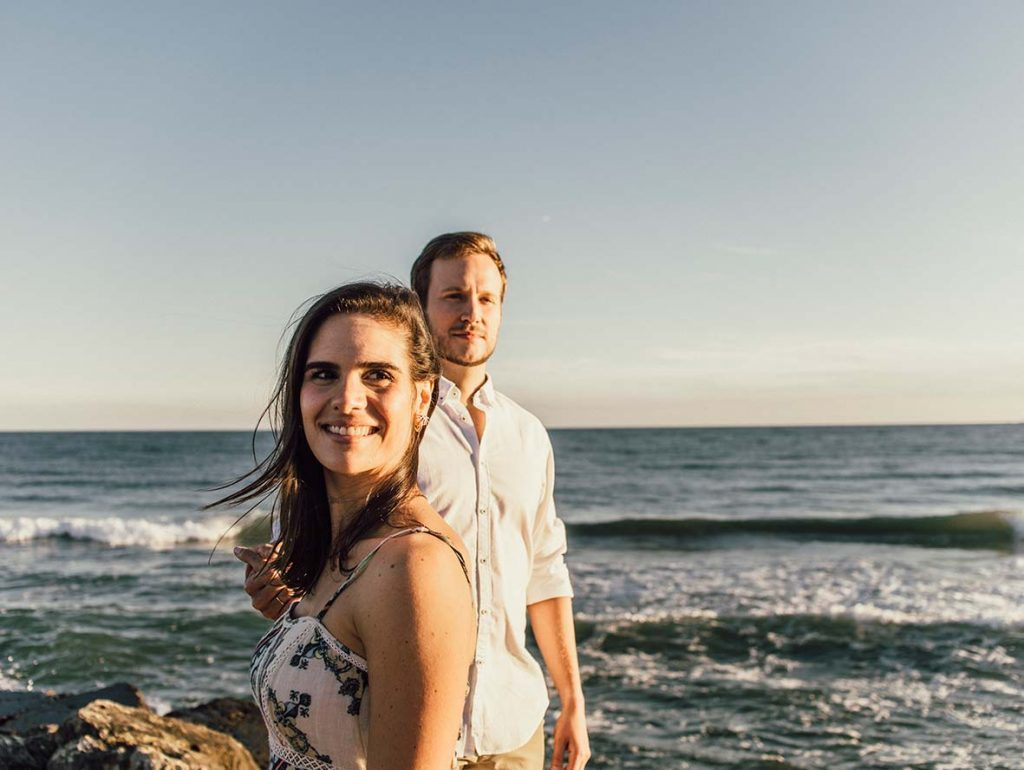 prewedding photographer in mallorca walk