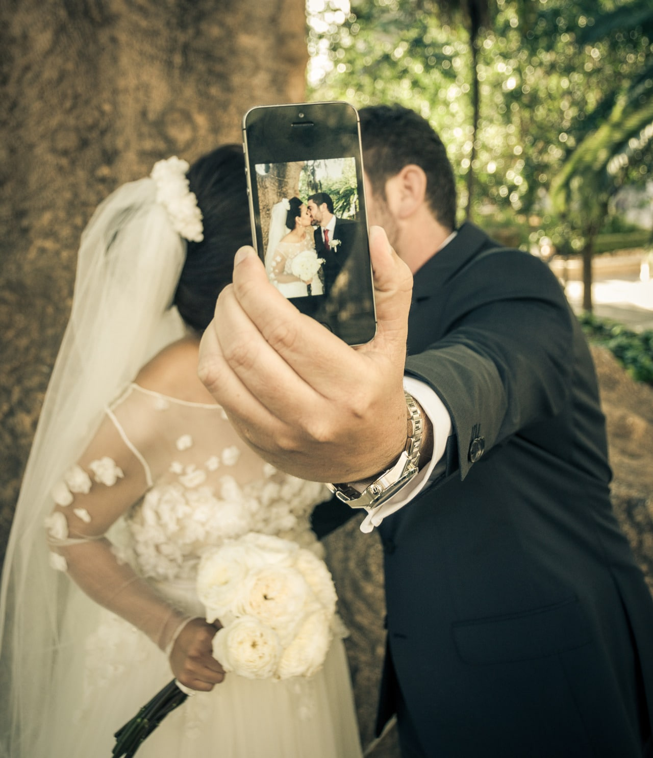 Wedding photographers Mallorca iphone