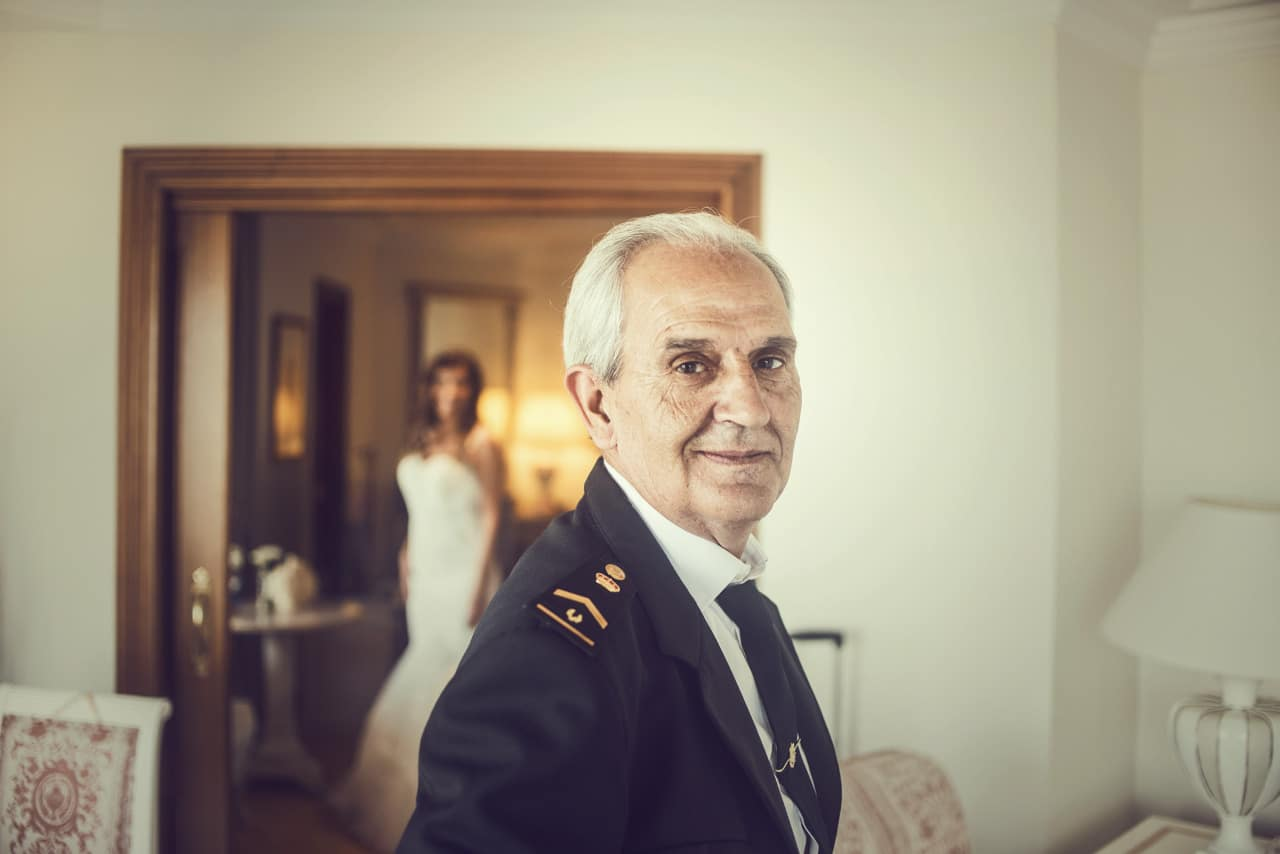 Wedding photographers in Palma de Mallorca father