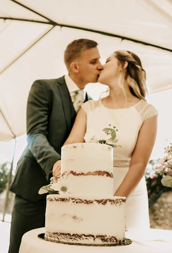 """ALT""wedding in finca morneta cake"""
