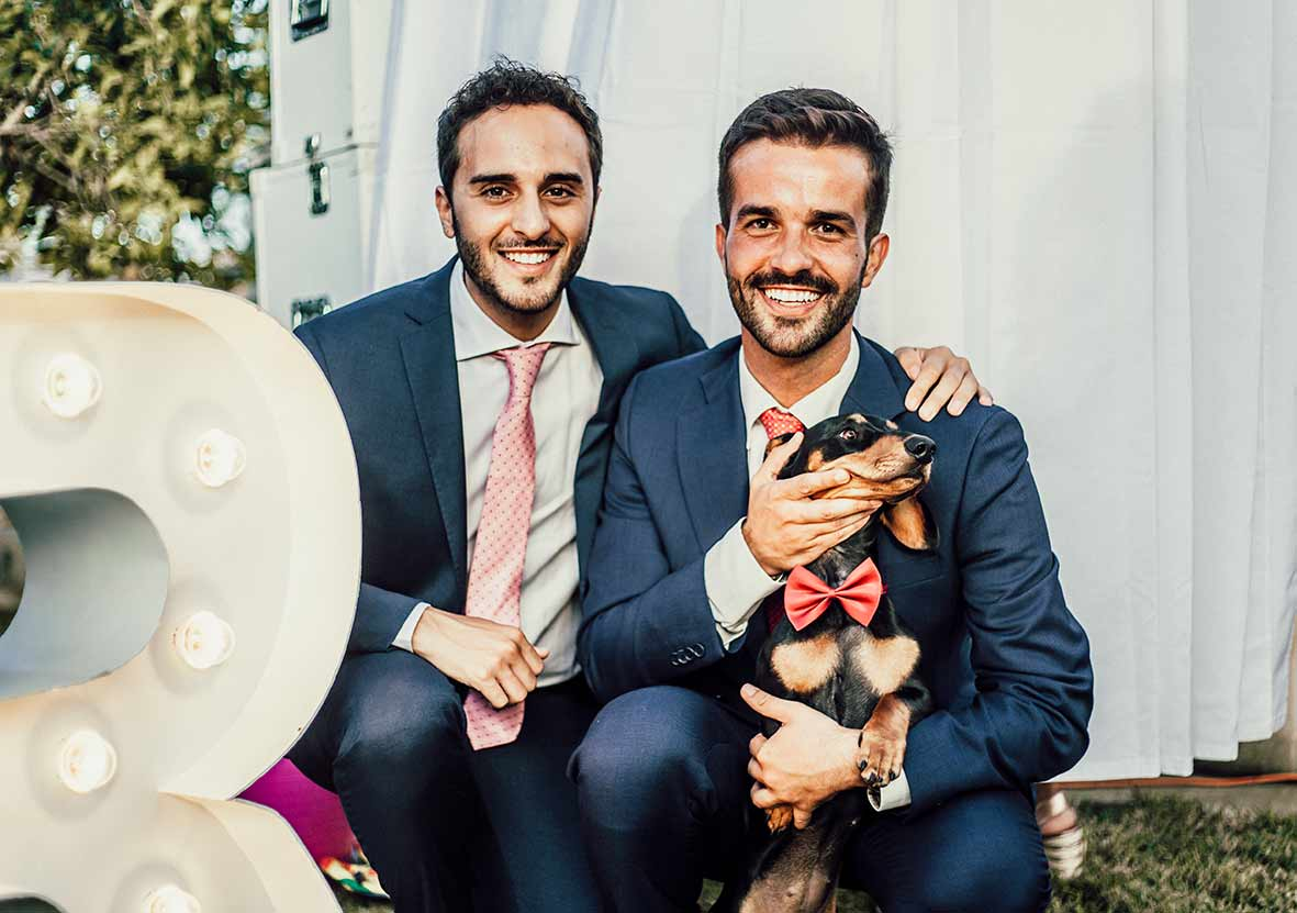 wedding photographer mallorca gay