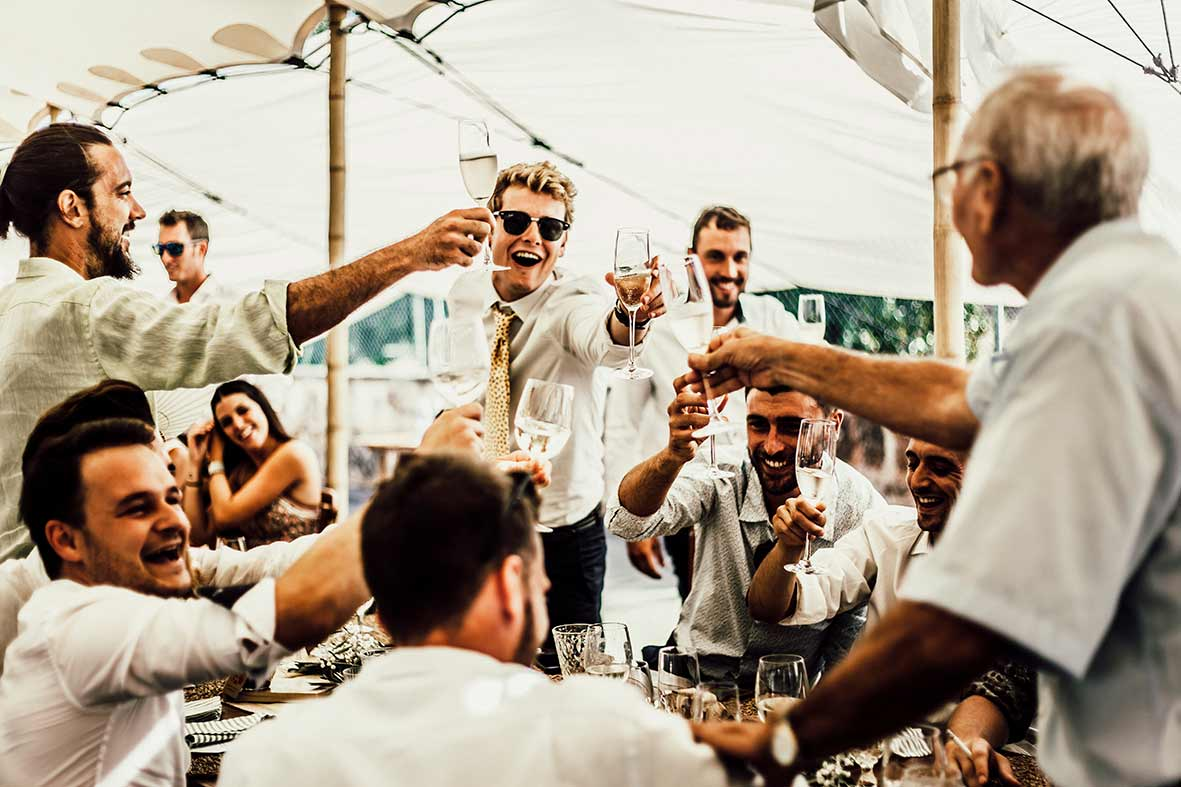 wedding photographer mallorca toast