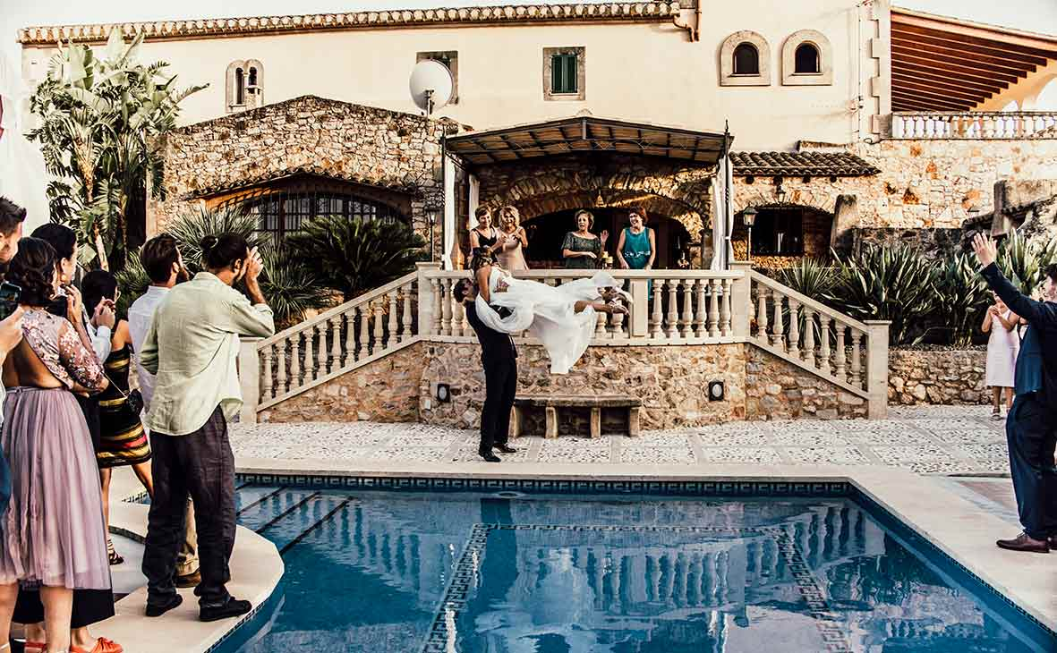 wedding photographer mallorca dance