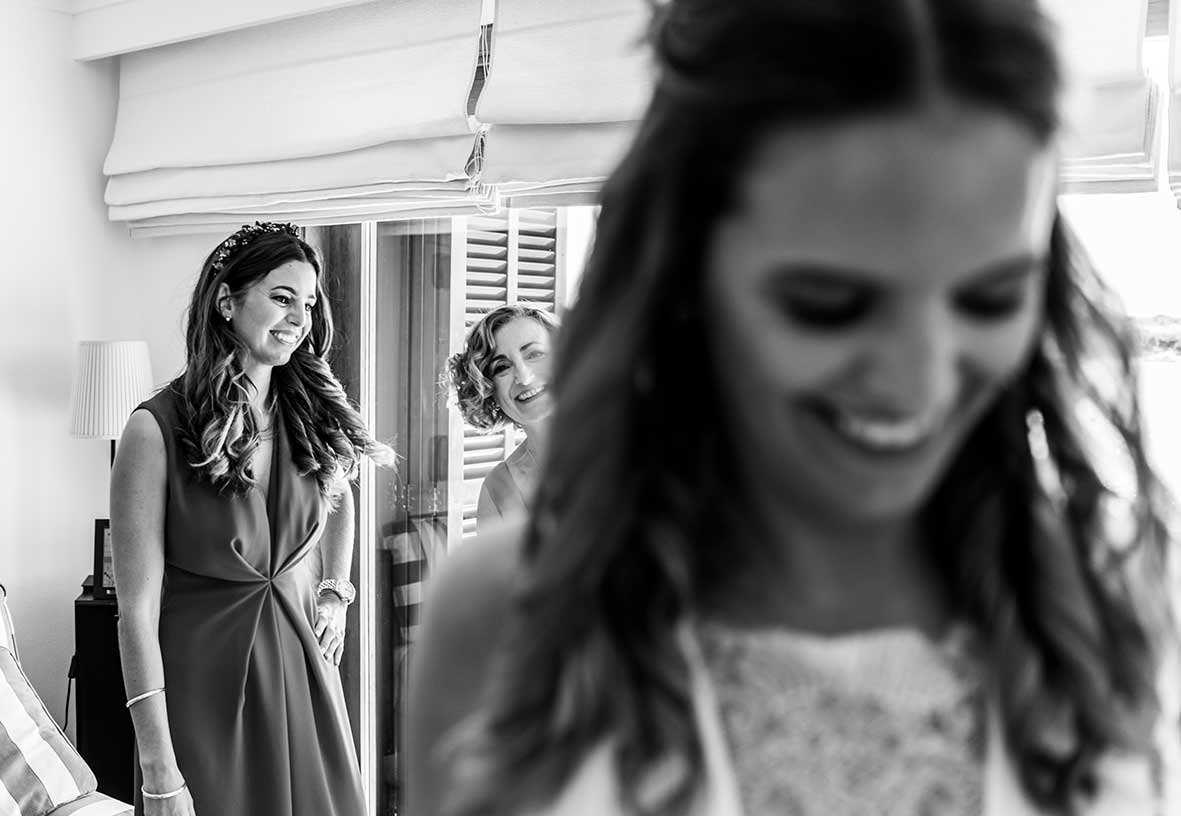 wedding photographer mallorca dresser