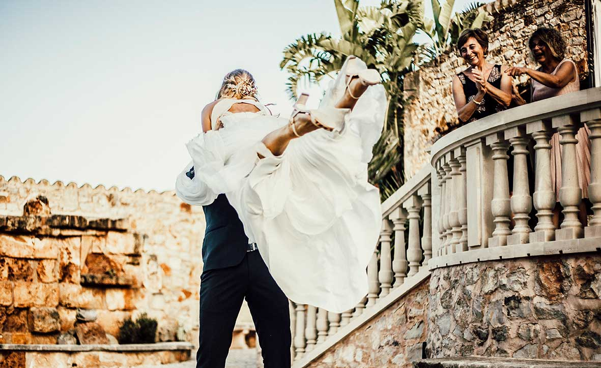 Wedding Photographer Mallorca funny