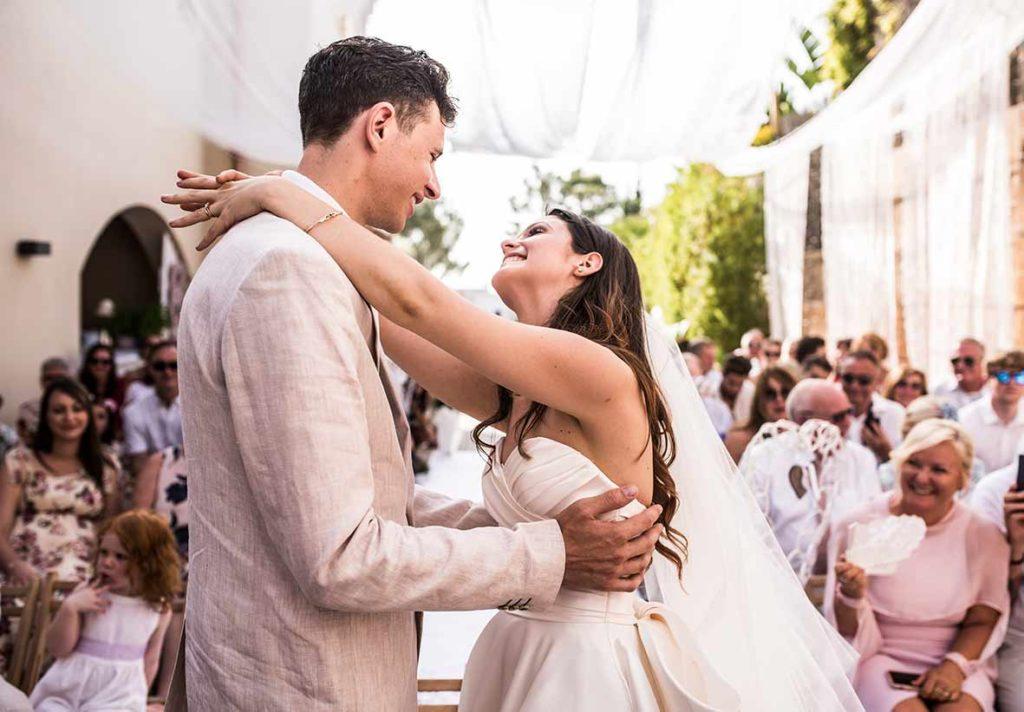 wedding photographer in Mallorca happyness