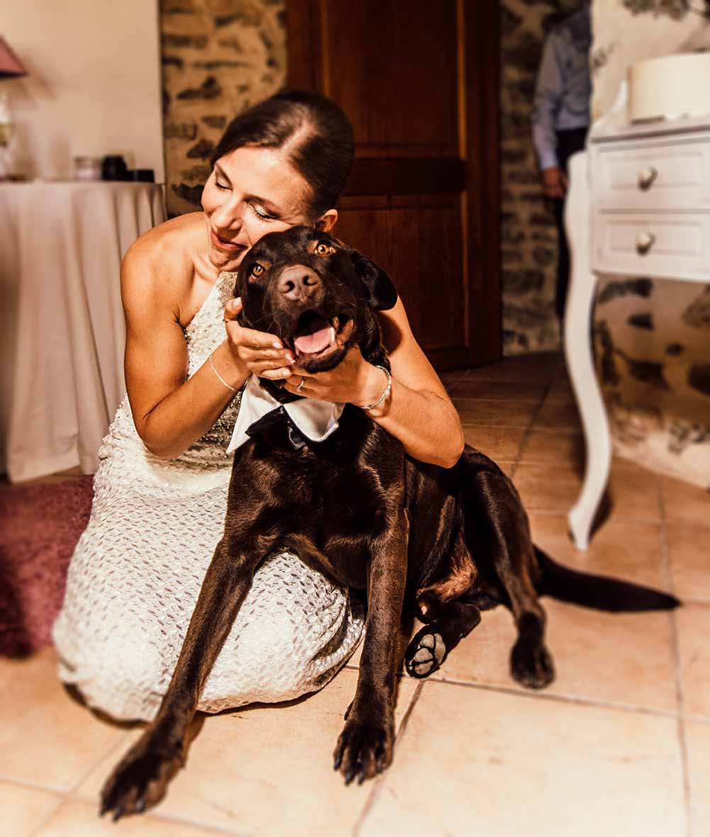 wedding photographers Mallorca dogs