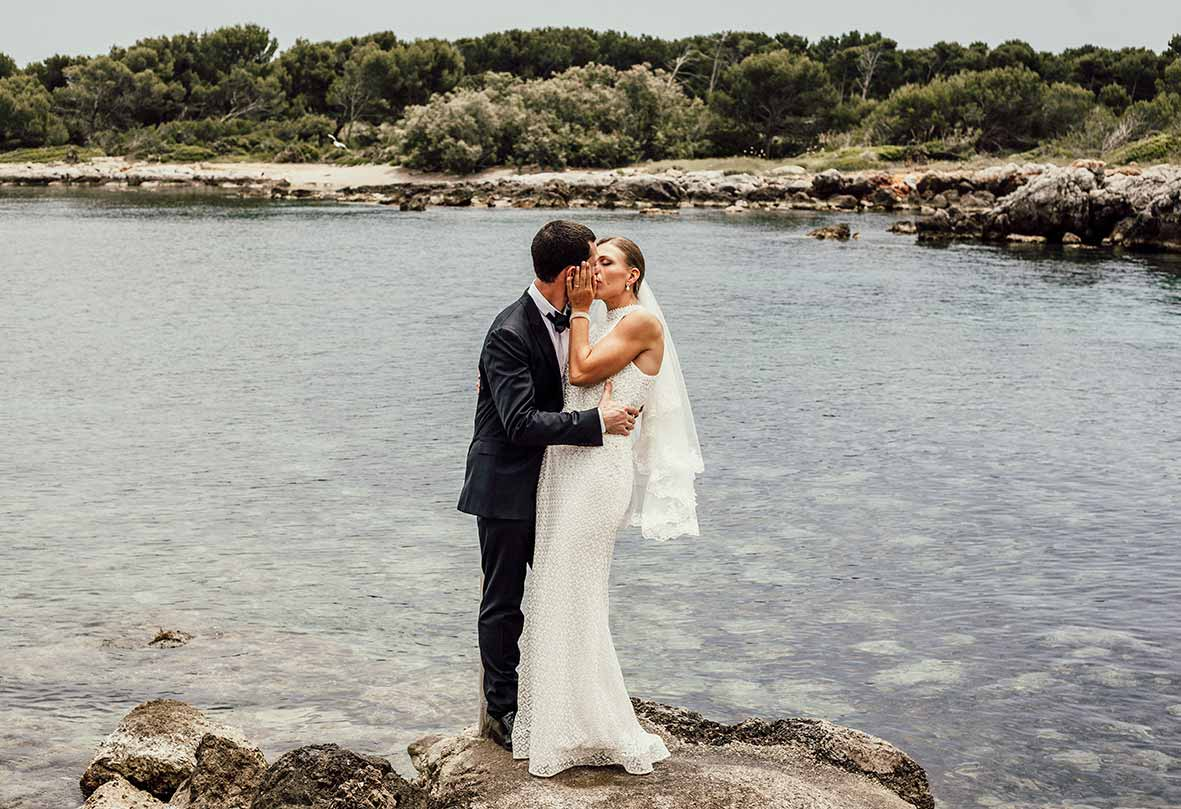 wedding photographers sea Mallorca